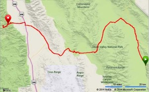 Badwater Route
