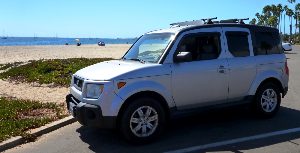 The Silver Bullet - Honda Element Camper