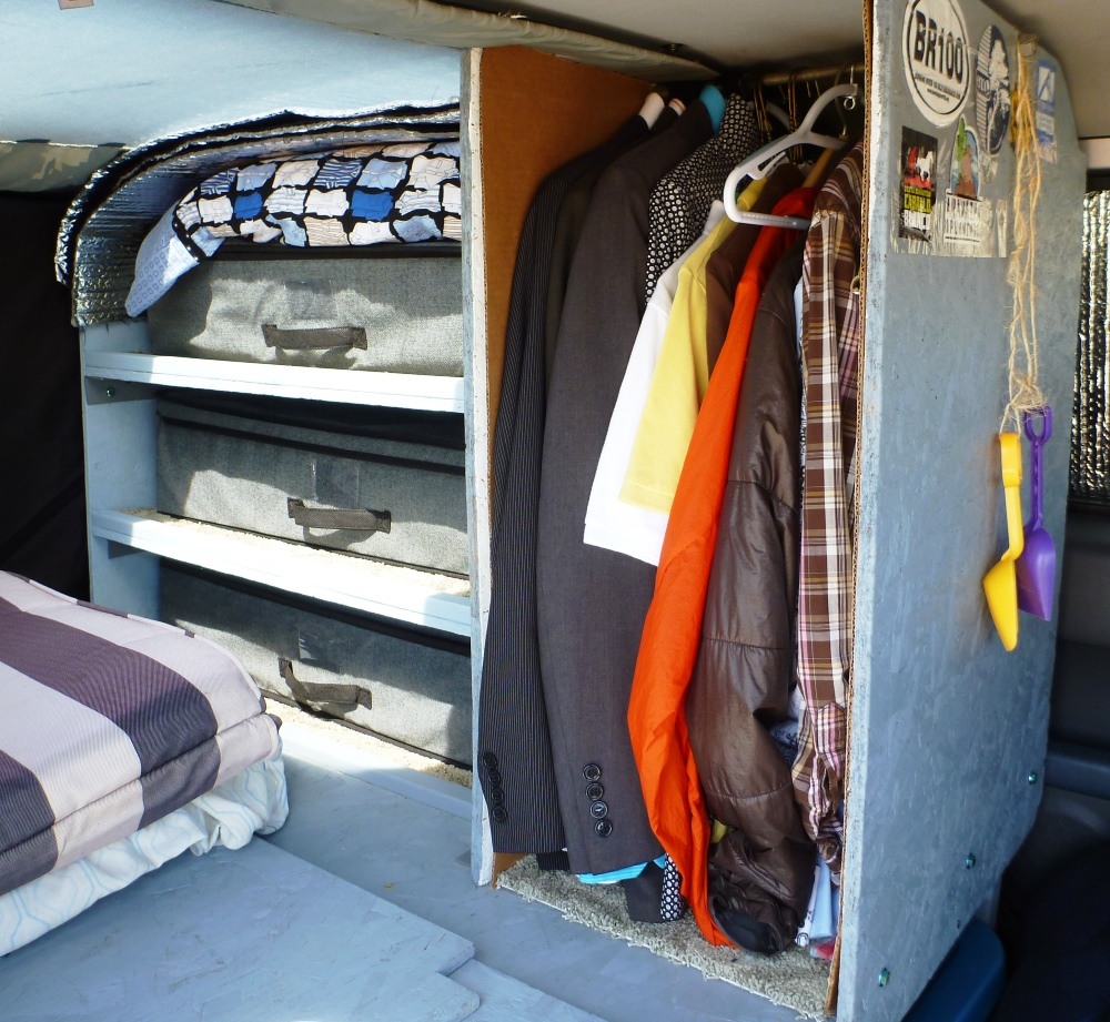 My closet and wardrobe - I'm a dirtbag, but I still have a real job.