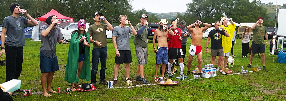 Chris Tarzan Clemens - Rancho San Juan AM Beer Mile