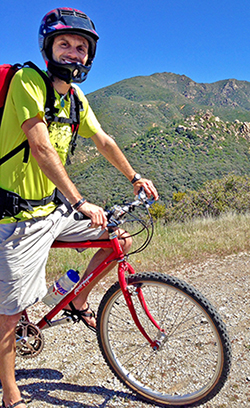 Chris Tarzan Clemens - Mission Pines Mountain Bike