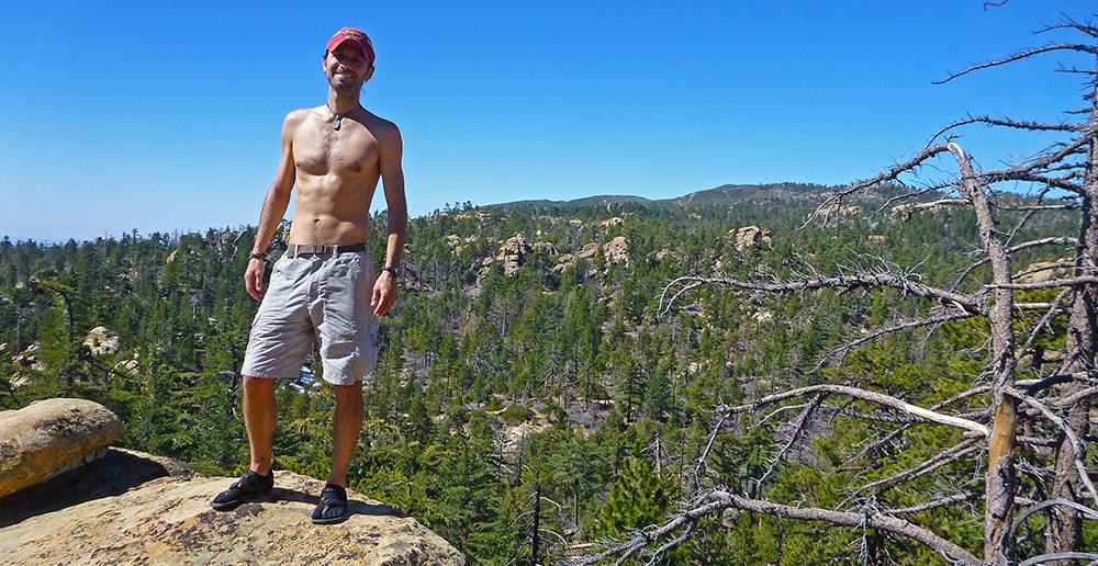 Chris Tarzan Clemens - Mission Pines Rock Scramble