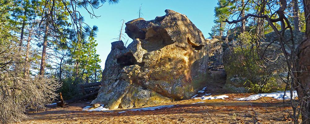 Chris Tarzan Clemens - Mission Pines Skull Rock