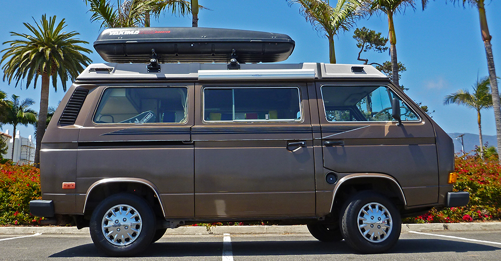 Living In A Volkswagen Westfalia