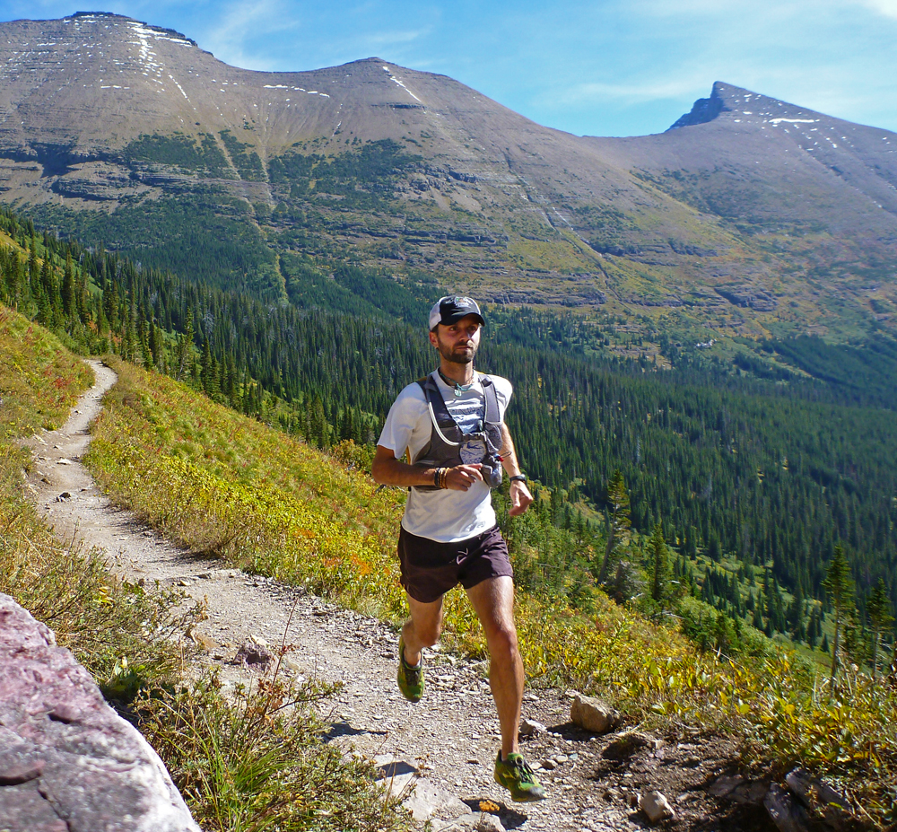 Chris Tarzan Clemens - Running Glacier National Park