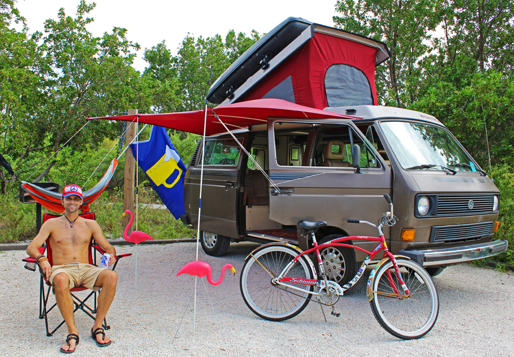 Chris Tarzan Clemens - Florida Keys Camping