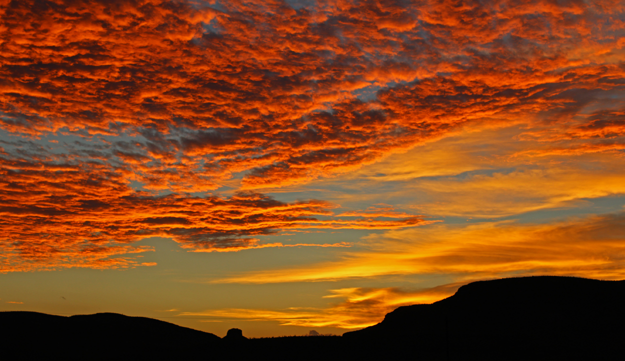 Chris Tarzan Clemens - Sunset Over Big Bend National Park