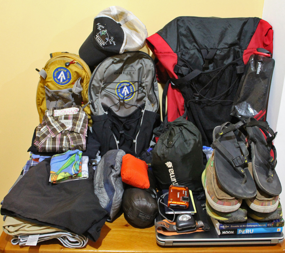 Chris Tarzan Clemens - Digital Nomad Packing List