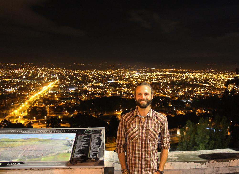 Chris Tarzan Clemens - Mirador de Turi at Night