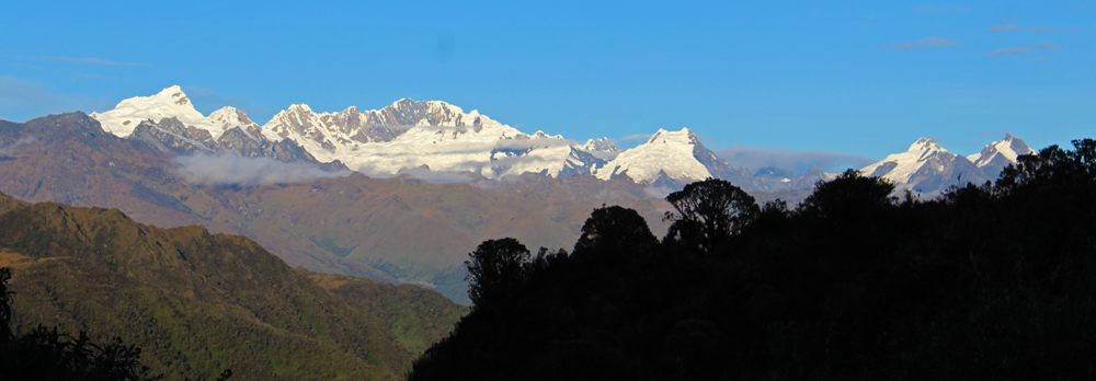 Chris Tarzan Clemens - Inca Trail Snow Capped Mountains