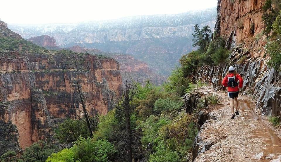 Running the Grand Canyon Rim To Rim To Rim - Chris Tarzan Clemens