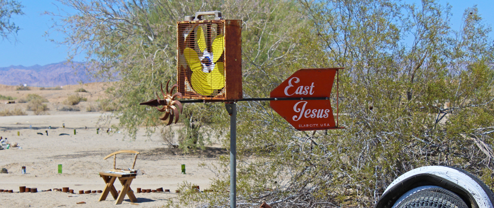 Slab City - East Jesus - Chris Tarzan Clemens