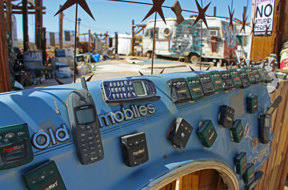Slab City East Jesus Old Mobiles