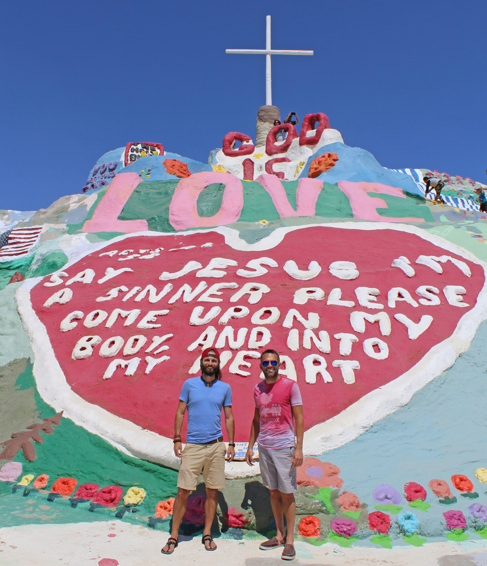 Slab City Salvation Mountain - Chris Tarzan Clemens