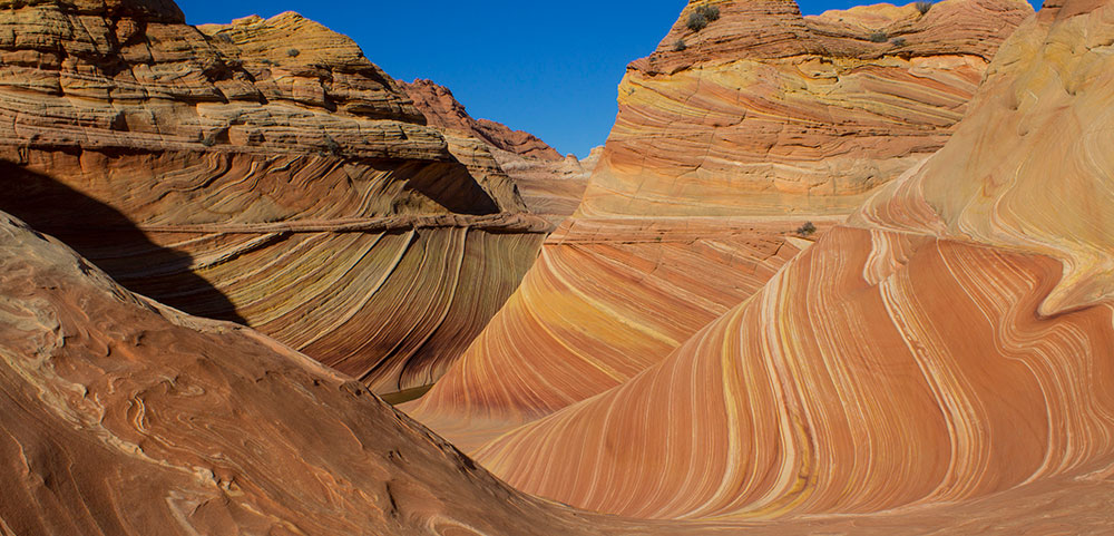 Hiking The Wave, Arizona