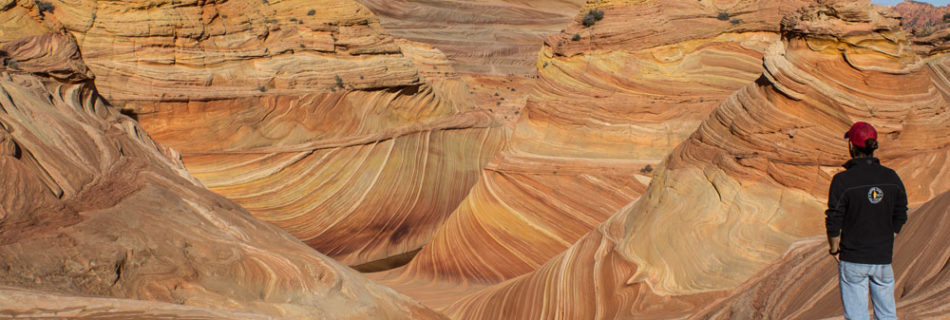 Hiking The Wave, Arizona